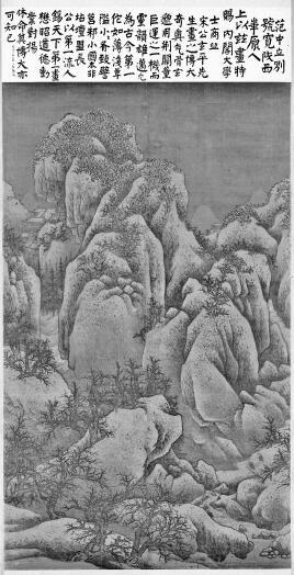 中国画里的冰雪世界——雪景山水画的古今之变