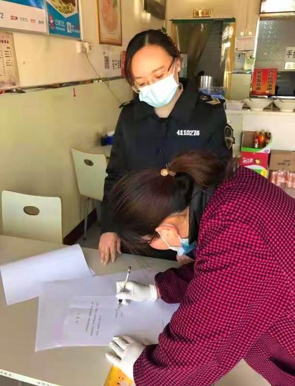 濮阳县市场监管局疫情防控在行动