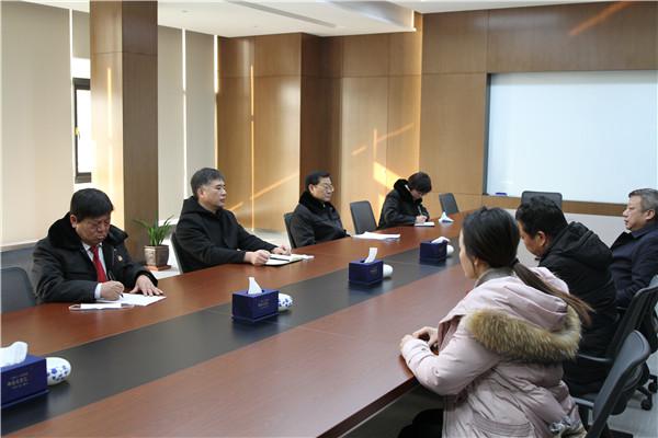 社旗县法院:院长走访企业 助推优化营商环境
