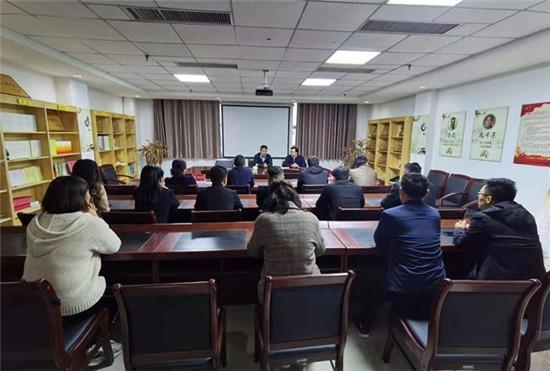虞城县委统战部专题学习《中国共产党统一战线工作条例》