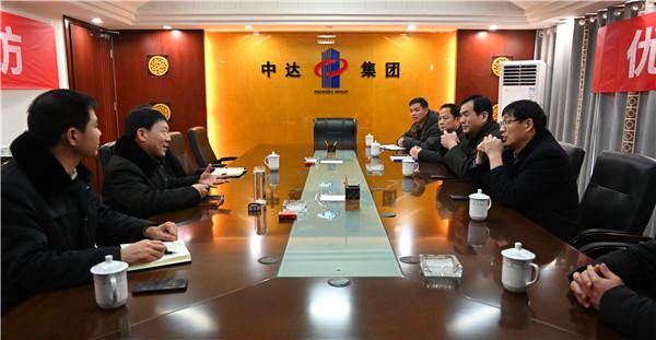 南阳高新法院:院长带队走访企业 助力优化营商环境