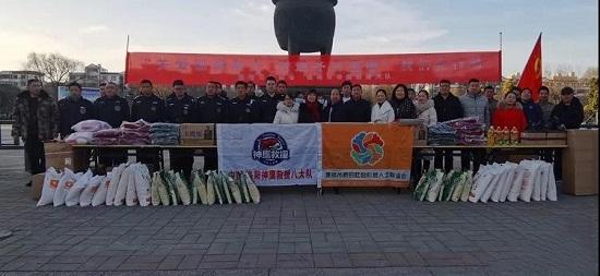 """偃师市新联会开展""""关爱孤寡老人,传递冬日温暖"""" 活动"""