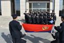 虞城县法院司法警察庆祝首个中国人民警察节