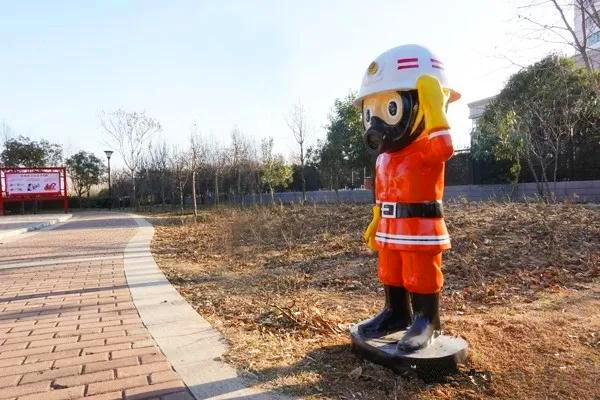 南阳首个消防主题公园竣工落成并对外开放
