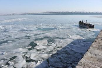 受寒潮天气影响 黄渤海海冰冰情较近十年同期偏重