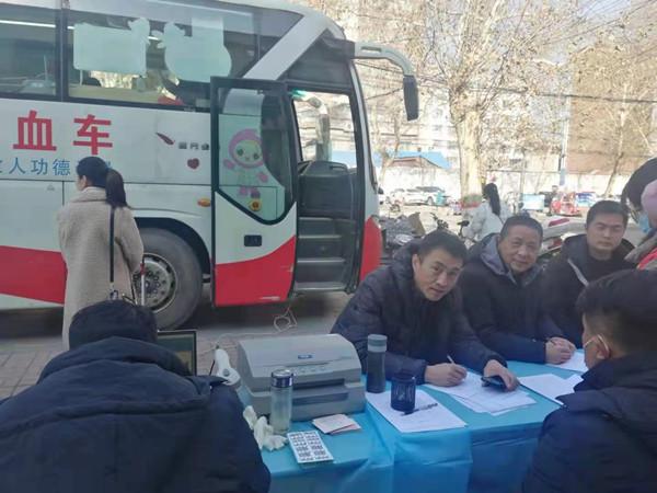 邓州市交通运输局执法所开展义务献血活动
