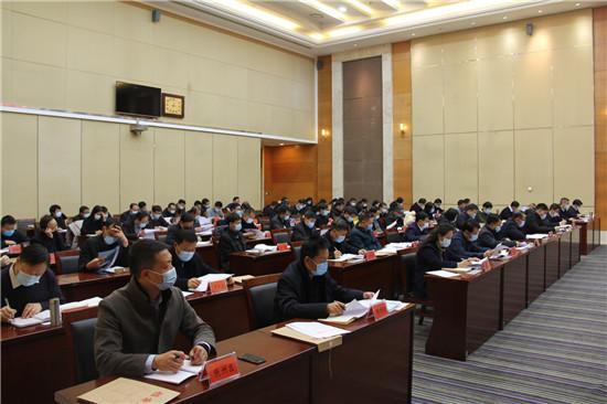 """三门峡市召开民营经济 """"两个行动""""工作推进会"""