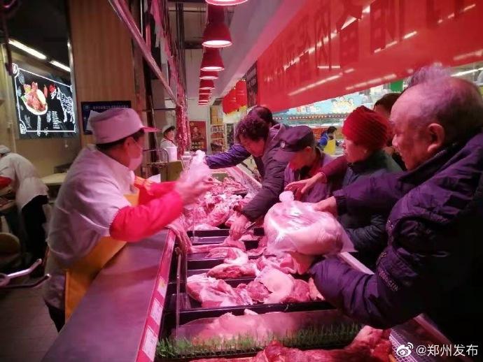 为期24天!郑州市将于明日(1月16日)启动猪肉应急投放工作