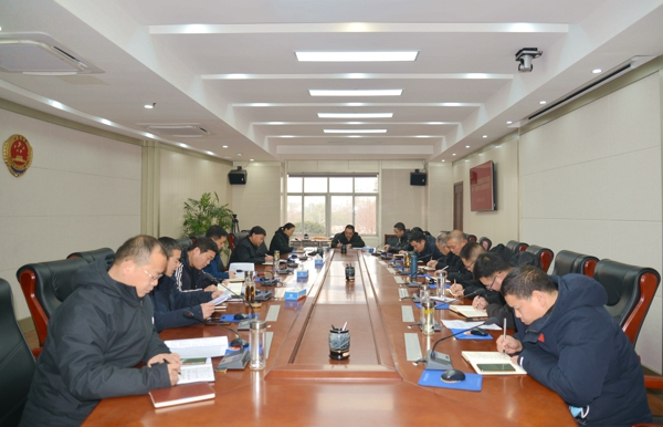 把握新形势谋划新篇章——新蔡县检察院召开2021年度首次党组理论中心组学习会议