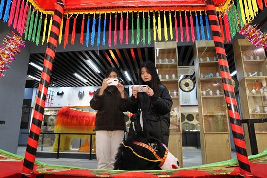 河南许昌:中国社火文化艺术馆开馆