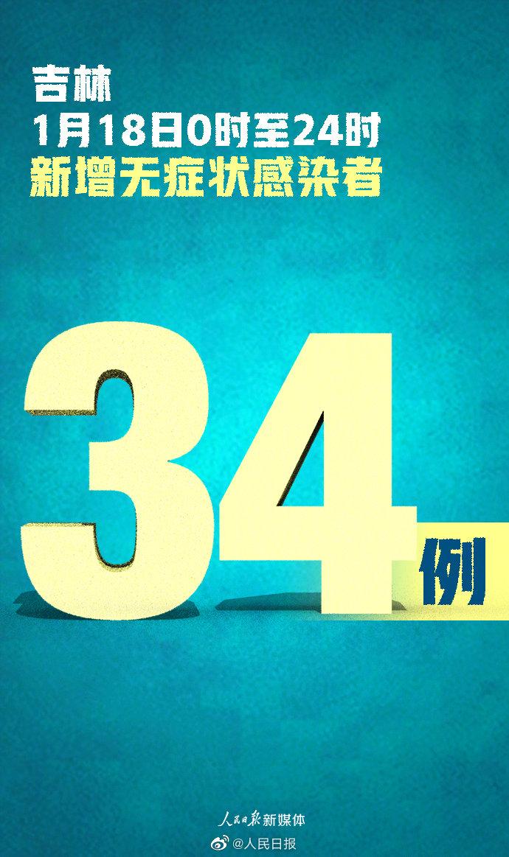 吉林新增本地确诊43例 吉林新增无症状感染者34例