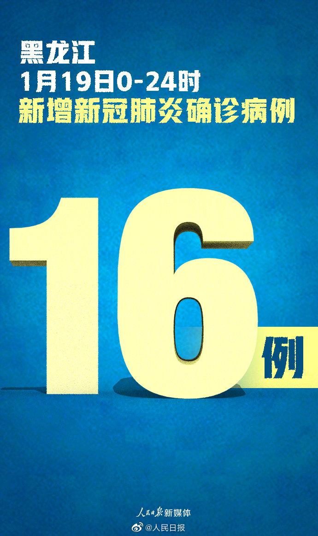 黑龙江新增确诊16例 黑龙江新增无症状31例