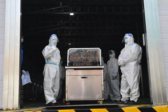 郑州:进口冷链食品集中监管仓正式启用