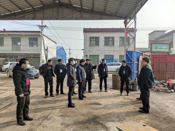 汝南县和孝镇人大代表团观摩王岗镇产业发展