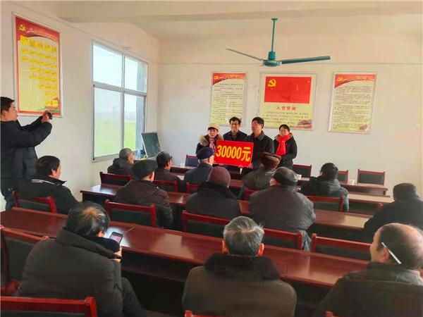 社旗县领导到唐庄乡走访慰问贫困户