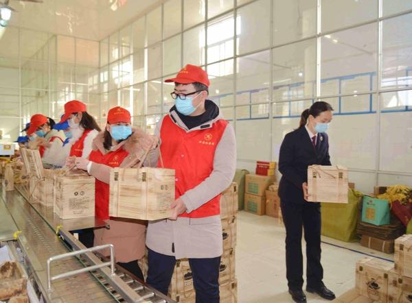 新蔡县检察院党员志愿服务队走进河南蔡洪坊酒业