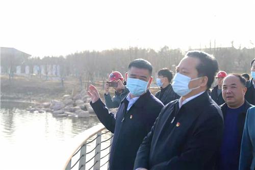 河南省人大常委会秘书长吉炳伟到蒋坡村调研慰问送温暖