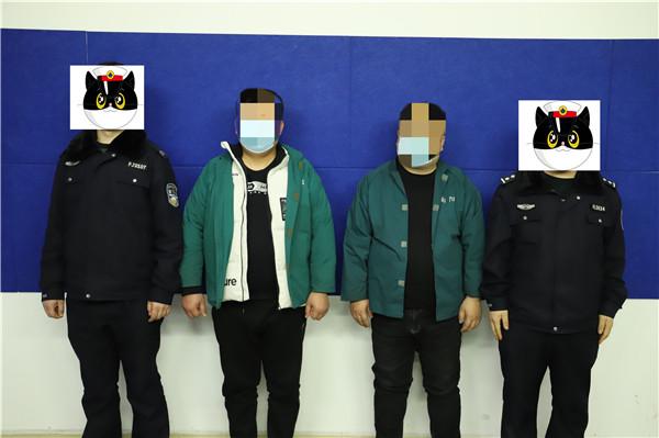 内乡县城关派出所:重拳扫赌!38人被抓!