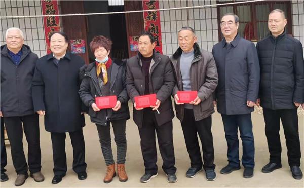 社旗县:见义勇为扬正气 新春慰问暖人心