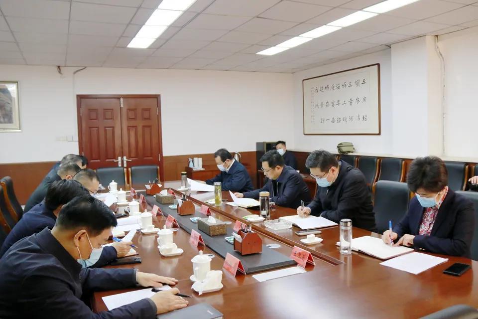 永城市委机构编制委员会召开会议