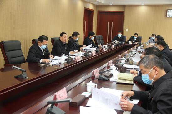 河南省委统战部召开部领导班子2020年度民主生活会