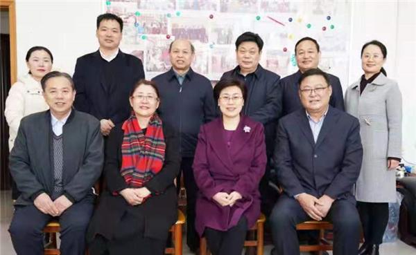 商丘市委副书记陈向平走访慰问农工党商丘市委机关