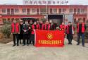 """内乡畜牧局""""红马甲""""志愿者走访慰问贫困群众"""