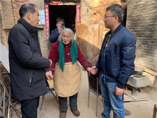 河南伏羲山旅游开发公司开展春节慰问活动,为当地老人送去节日关怀