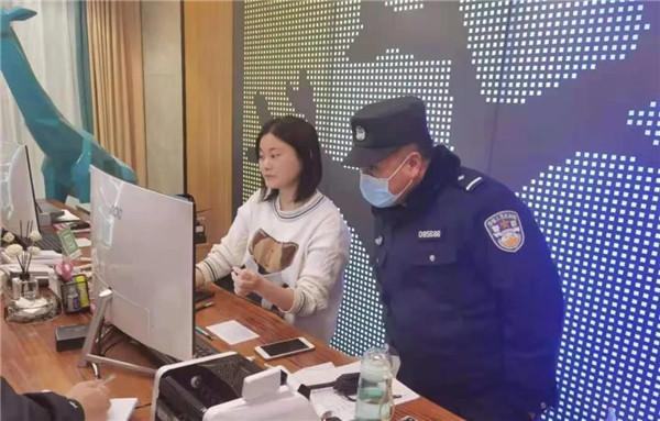 社旗县赊店派出所开展节前安全大检查