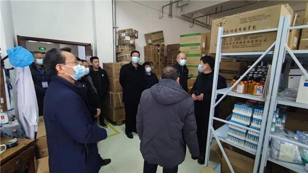 新野县人民医院开展节前安全生产检查