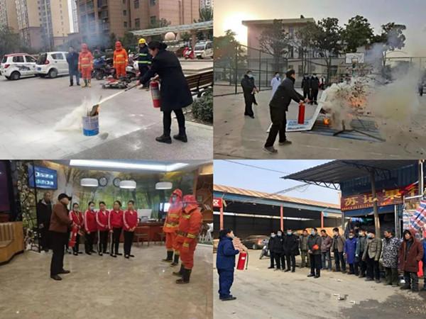 南阳消防支队开展春节消防安全宣传活动