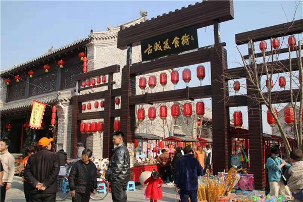 【网络中国节·春节】商丘古城年味浓 欢天喜地过大年