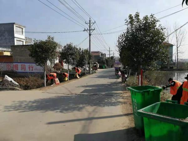 新蔡县顿岗乡推进人居环境整治升颜值提气质