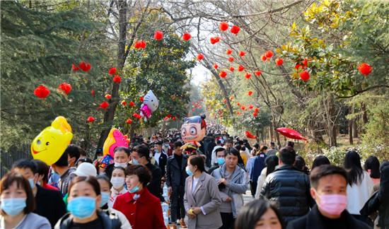 中国年开门红  2021春节假期芒砀山释放全新活力!