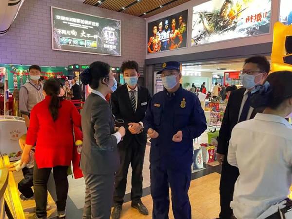 南阳消防支队圆满完成春节消防安保任务