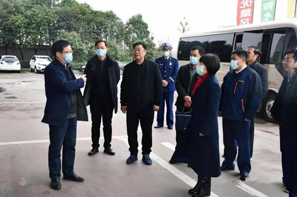 省防火委第八调研组对南阳市当前重点消防工作任务进行调研督导