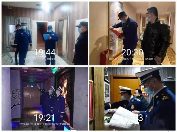 南阳消防开展元宵节消防安全夜查行动