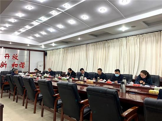 新郑市委常委会传达学习全国统战部长会议和全省统战工作会议精神
