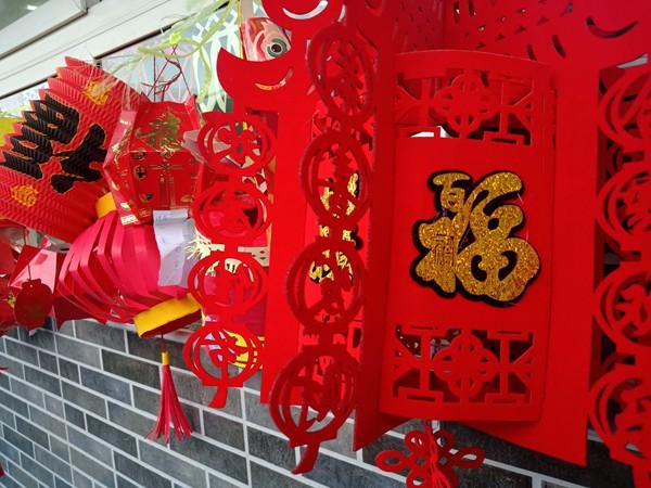 灯笼花灯扮靓校园!郑州二七区京广路小学师生欢度元宵节