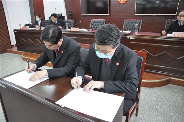 商丘市睢阳区法院召开2021年工作会议暨党风廉政建设和反腐败工作会议