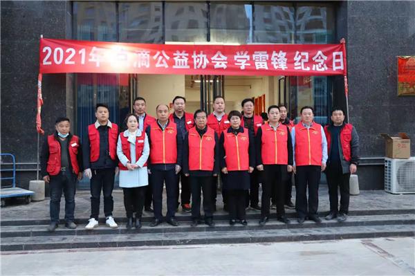 柘城县劳模志愿者服务队 开展学雷锋志愿活动