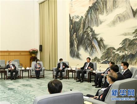 十三届全国人大常委会举行第八十七次委员长会议