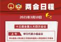 """3月10日:人代会审议""""两高""""报告等 全国政协十三届四次会议闭幕"""