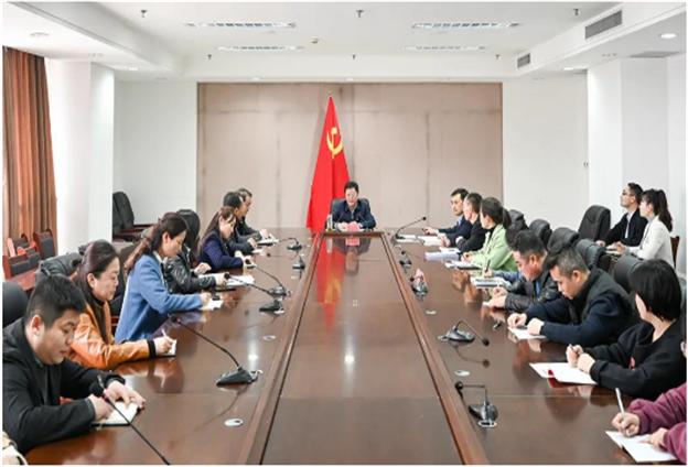 魏都区委书记李朝锋莅临区委统战部调研
