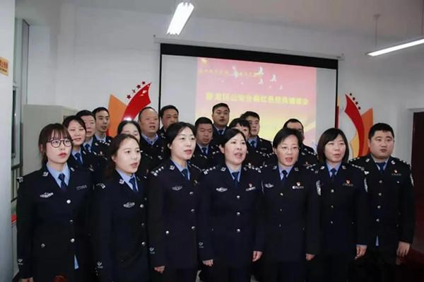 南阳卧龙区公安分局:诵读红色经典 筑牢忠诚警魂
