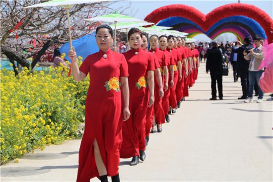 河南西华第十七届桃花节开幕,万亩桃园等你来!