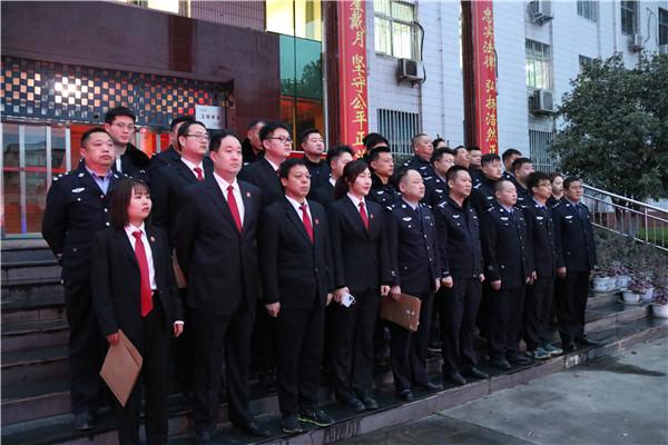 南阳宛城区法院:教育整顿狠抓落实 法治思想促进执行
