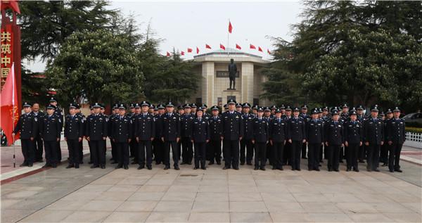 邓州市公安局组织民警到彭雪枫纪念馆开展红色教育活动