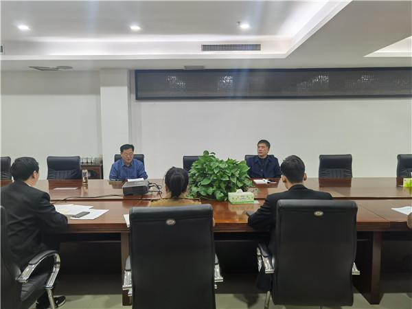 社旗县法院召开优化营商环境迎评推进会议