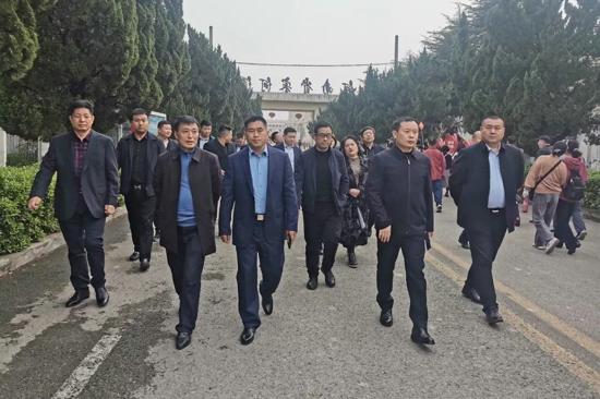 寻根老子故里,助力家乡发展丨北京鹿邑商会莅临宋河参观指导